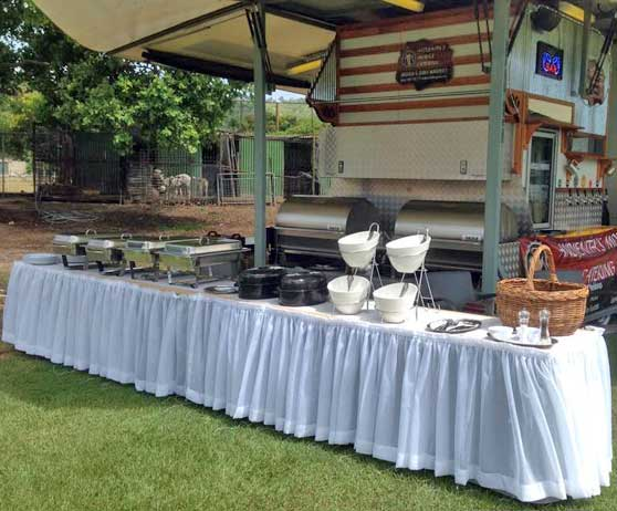Remote & rural event catering